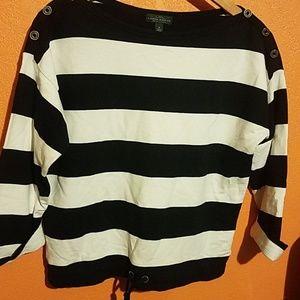 Ralph Lauren women's boatneck sweater 3/4 sleeve